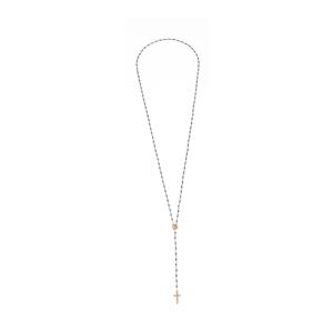 Naszyjnik różnaniec ze spinela z elementami pozłacanymi Ami Bijoux