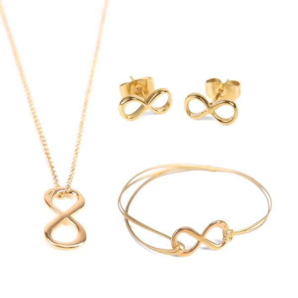 Zestaw biżuterii NIESKOŃCZONOŚĆ od Ami Bijoux